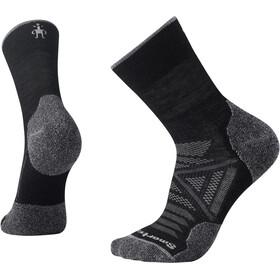 Smartwool PhD Outdoor Light Mid Crew sokker, sort/grå